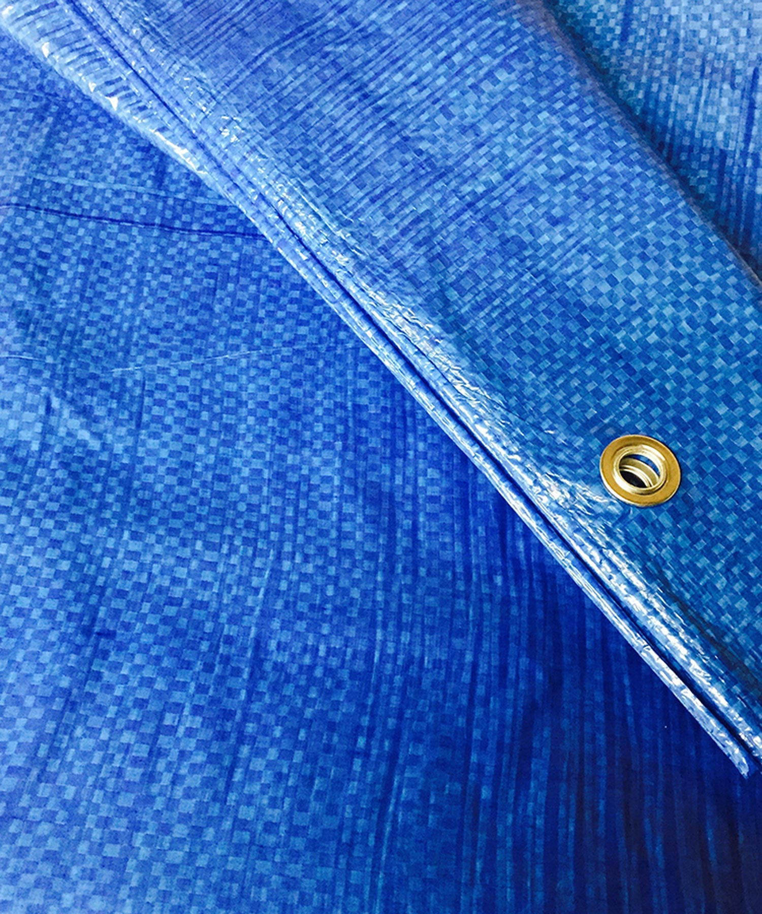 Blue Poly Tarps Heavy Duty Water Resistant