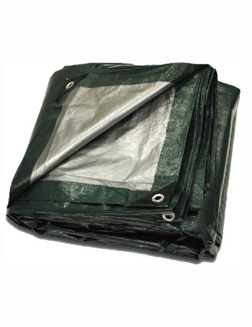 Green Silver Poly Tarps