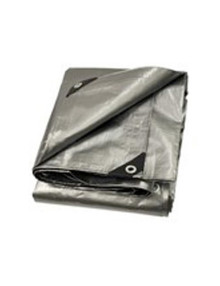 Silver Heavy Duty Poly Tarps