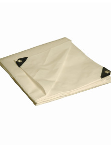 White Heavy Duty Poly Tarps
