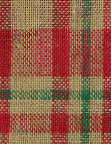 Printed Holiday Burlap