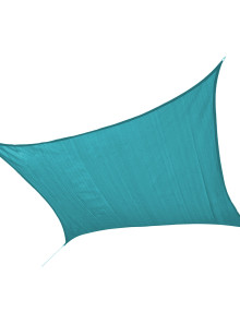 Sun Shade Sail Sea Blue Square