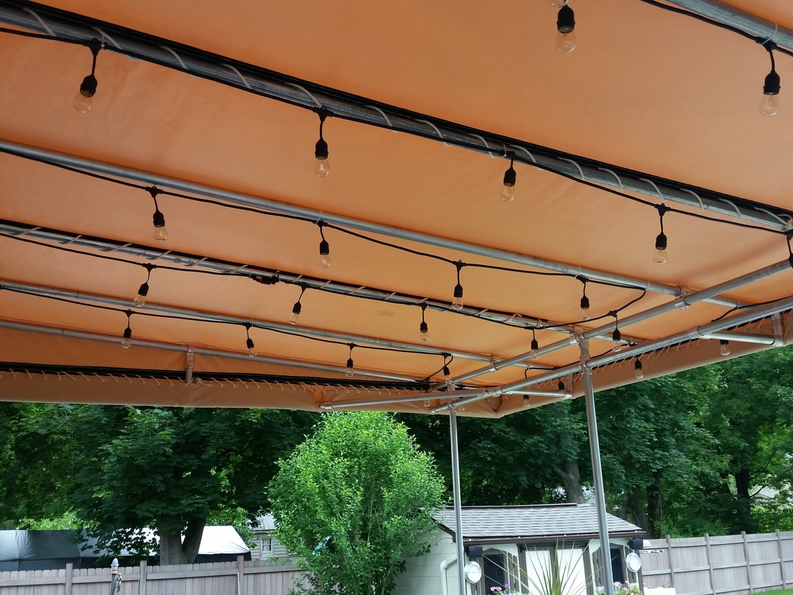 Vinyl Fabric Waterproof Canopy & Vinyl Fabric Waterproof Canopy - Chicago Canvas u0026 Supply