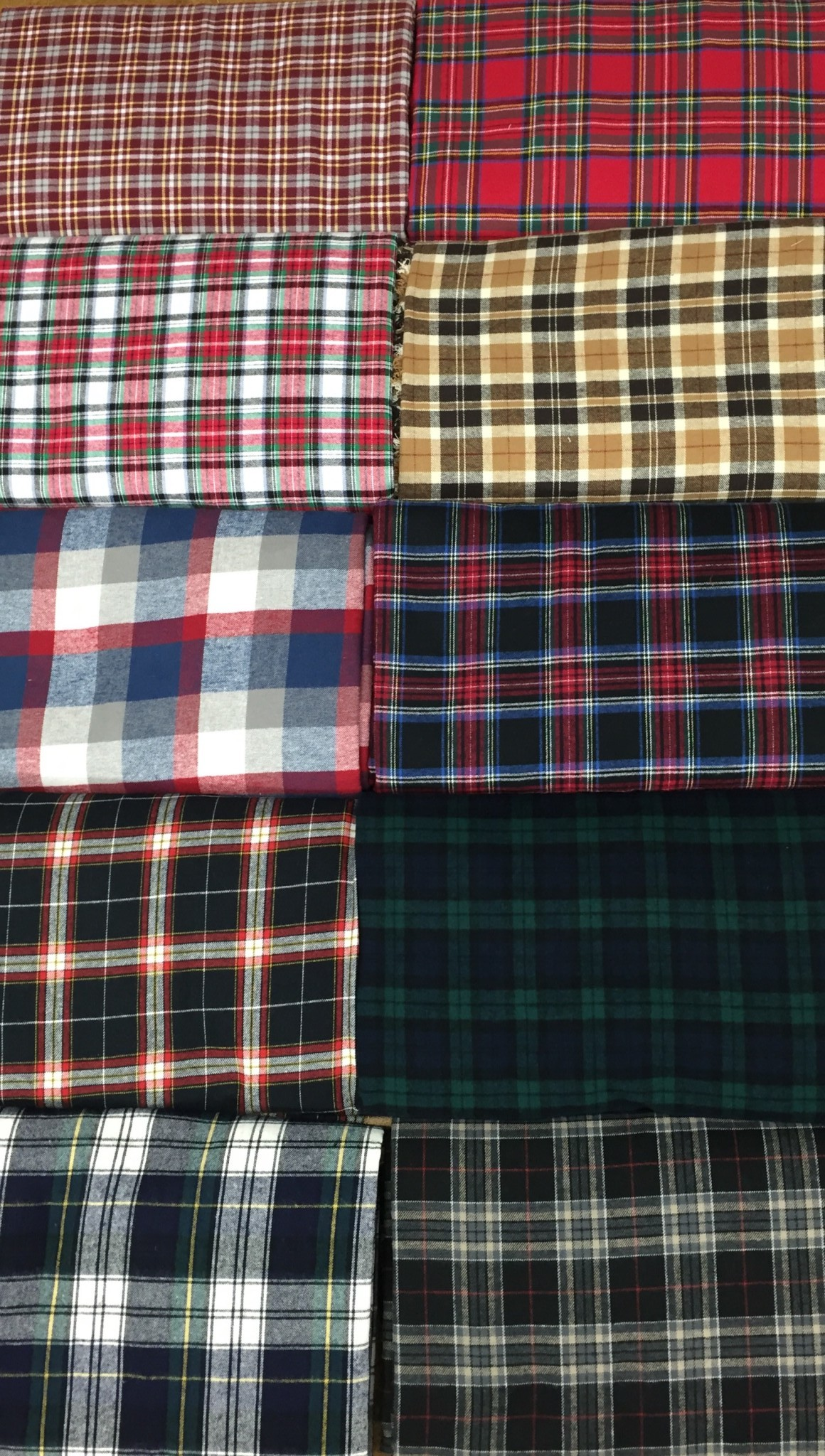 plaid flannel cotton fabric chicago canvas supply. Black Bedroom Furniture Sets. Home Design Ideas