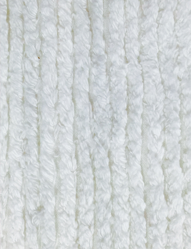 Chenille Cotton Fabric White Chicago Canvas Amp Supply