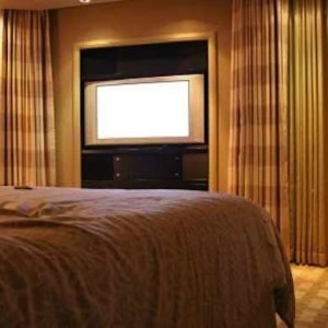 TV Curtains-Entertainment Nook
