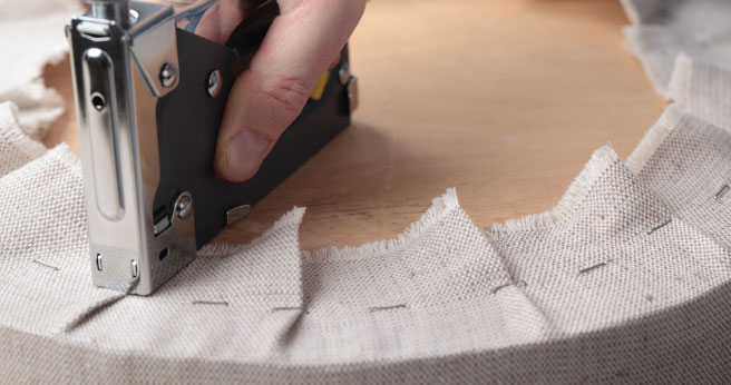 Drop Cloth Upholstery 101