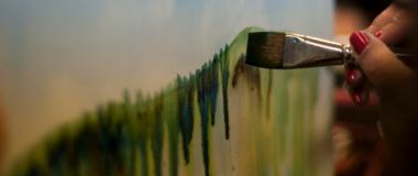 DIY - How to Prepare a Canvas