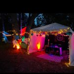 CCS Customer Photo; SD Collective: Canvas Drop Cloth DJ Tent