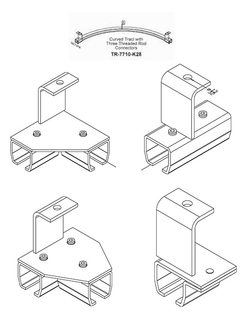 Threaded Rod Support Hardware
