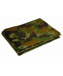 Camouflage Poly Tarps