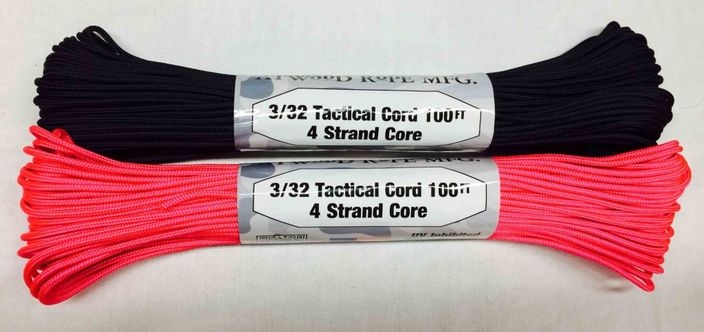 275 Tactical Cord Hot Pink Black 1 Chicago Canvas Amp Supply