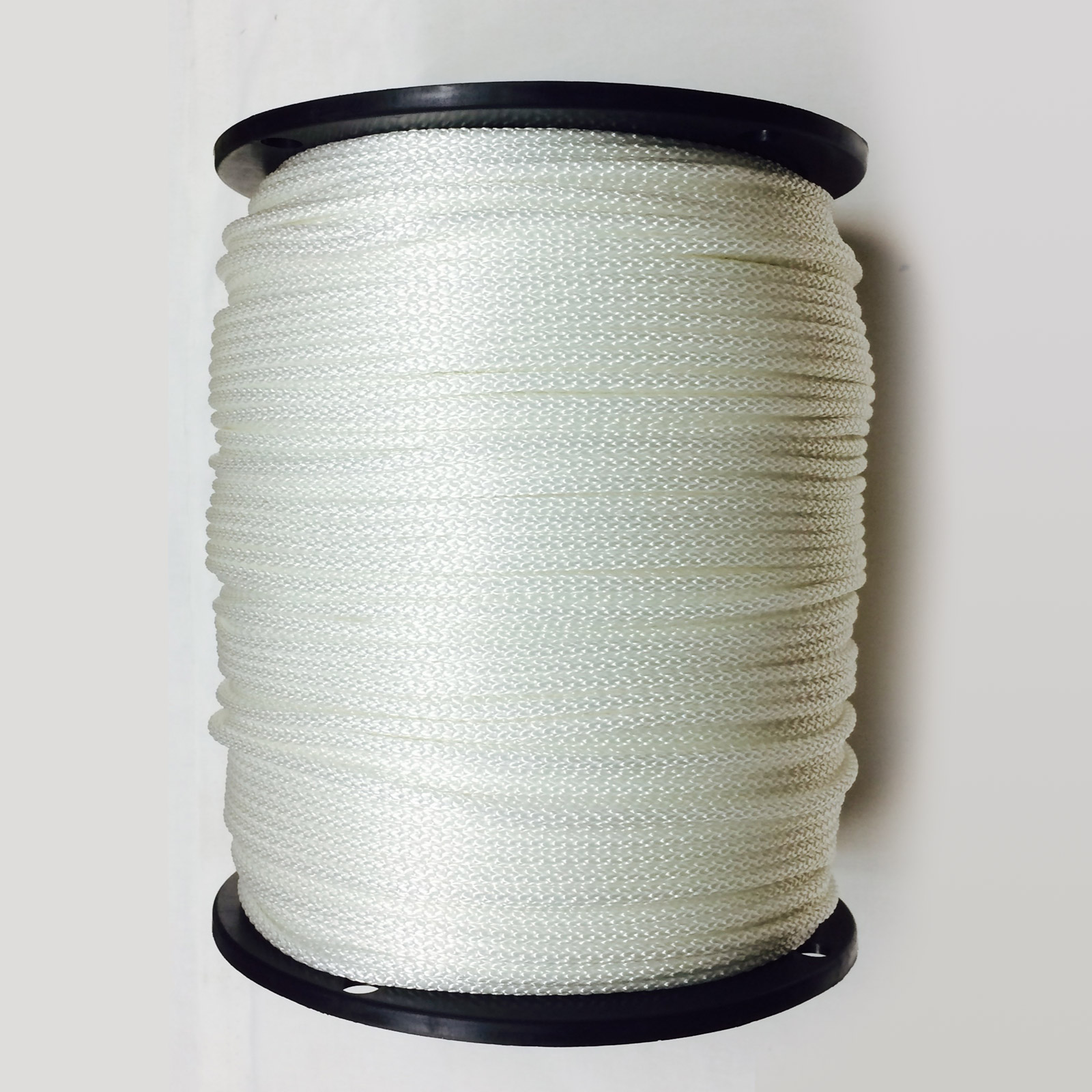 Braided Poly Theater Cord White