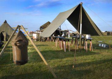 Canvas Tarp Tent Canopy