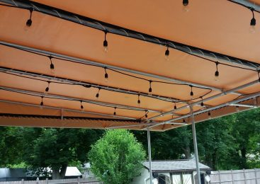 Vinyl Fabric Waterproof Canopy