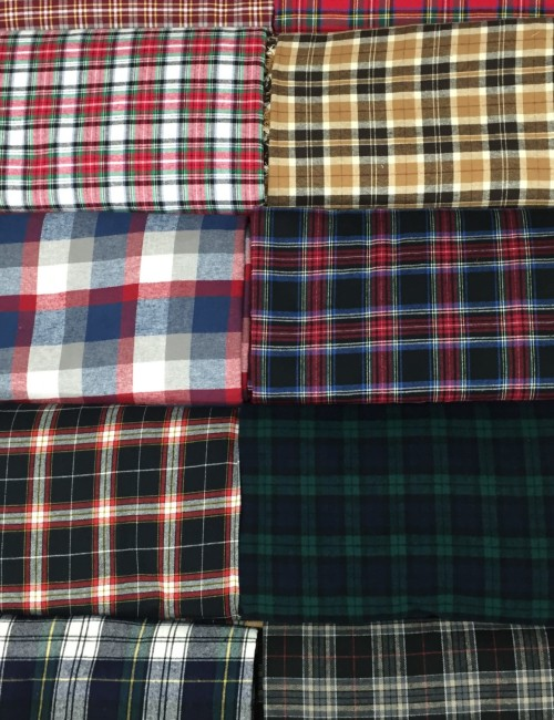 Plaid Flannel Stack