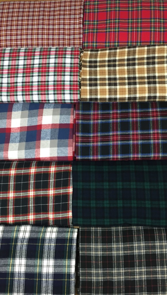 Plaid Flannel Cotton Fabric Chicago Canvas Amp Supply