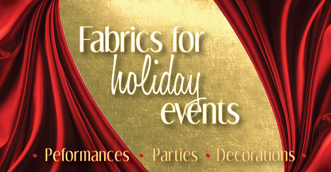 Fabrics-for-holiday-events