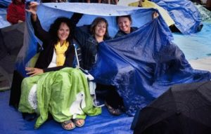 Use tents for outdoor shelter and coverage; 40 uses for tapaulins