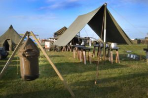 Canvas Tarp-Tent-Canopy