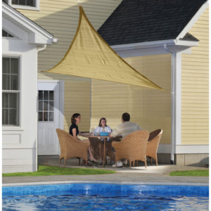 Patio Shade Ideas - Shade Sail
