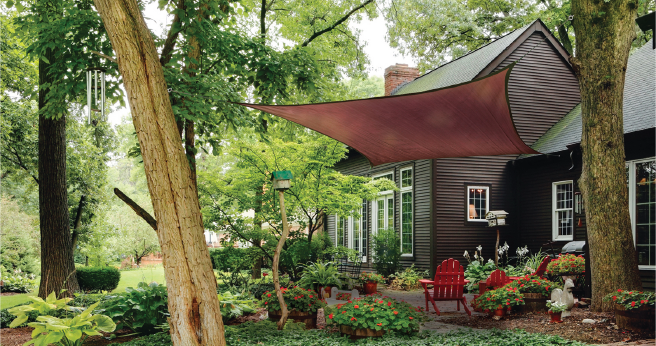 4 Simple Patio Shade Ideas