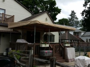 4 Simple Patio Shade Ideas - Vinyl Awning & DIY Patio Shade Ideas u2013 Make Your Own Shade Shelters