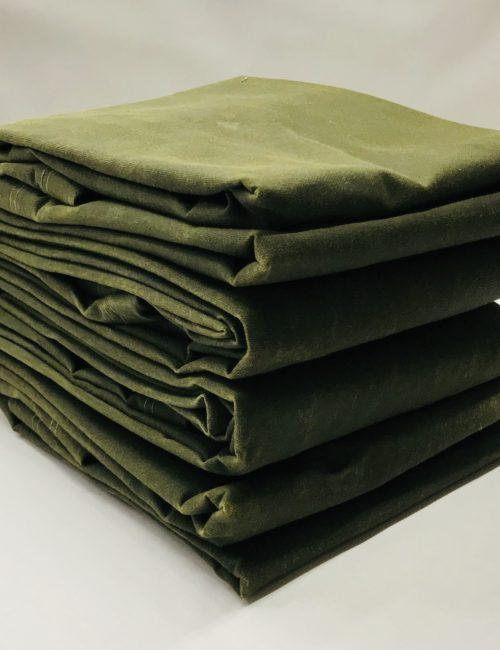 16oz Canvas Tarpaulins Olive Drab 4-Pack