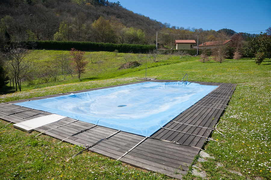 Can You Put a Tarp Over a Swimming Pool? - Chicago Canvas & Supply